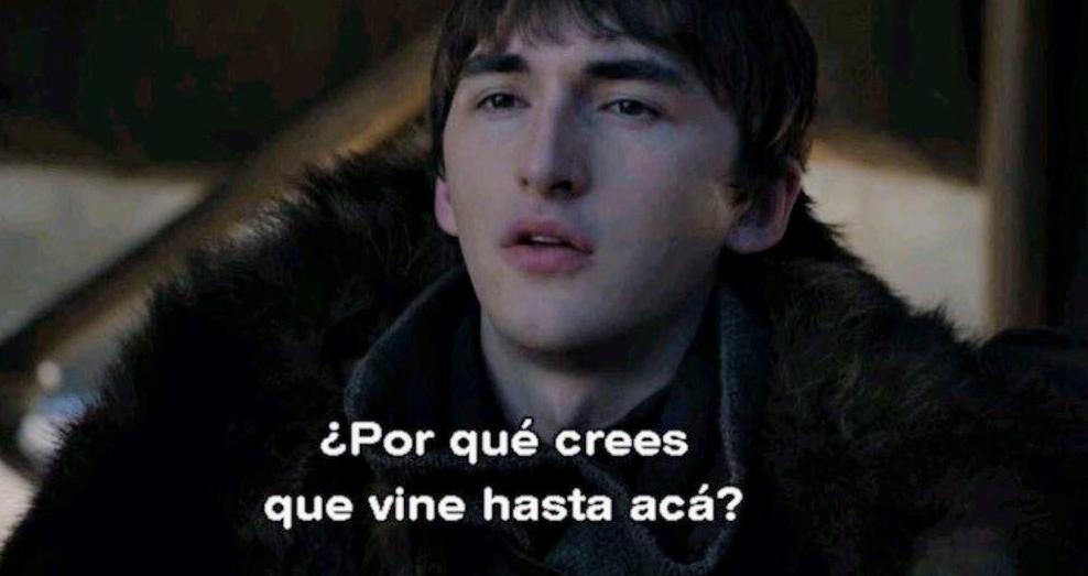 La frase de Bran Stark, para la historia (Foto Prensa Libre: HBO).