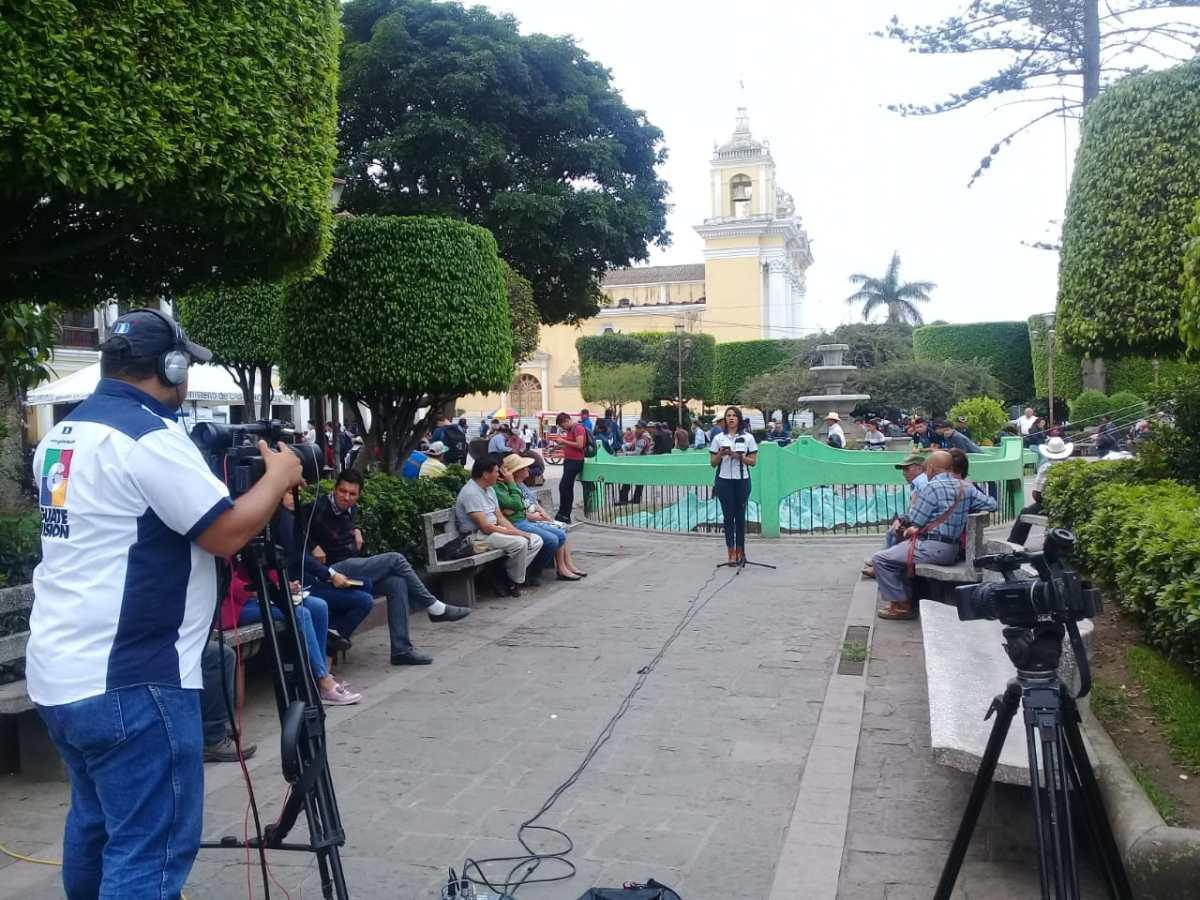 Vecinos de Huehuetenango exigen detener la corrupción y mejorar los servicios básicos