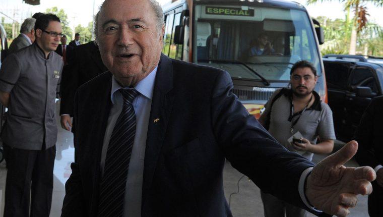 Joseph Blatter  busca llevar a los tribunales a la Fifa y a su actual presidente, Gianni Infantino. (Foto Hemeroteca PL).