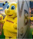 El alemán  Niko Schulz y el belga Thorgan Hazard son las nuevas incorporaciones del Borussia Dortmund. (Foto BVB).