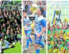 En los últimos ocho torneos cortos, siete han sido los campeones departamentales. (Foto Prensa Libre: Hemeroteca PL)