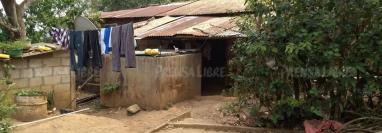 Esta es la humilde casa de donde partió el adolescente que murió el 30 de abril en EE. UU. (Foto Prensa Libre: Mario Morales)