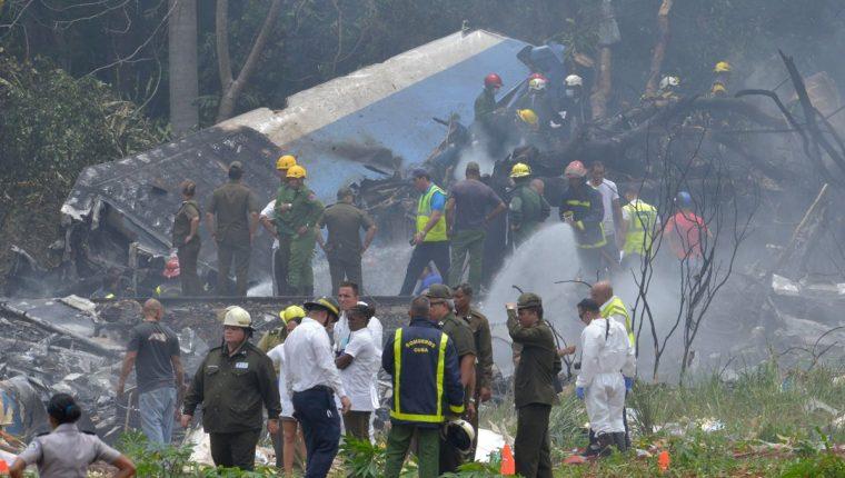 El Boeing 737 fue el avión accidentado en La Habana, Cuba, en 2018.