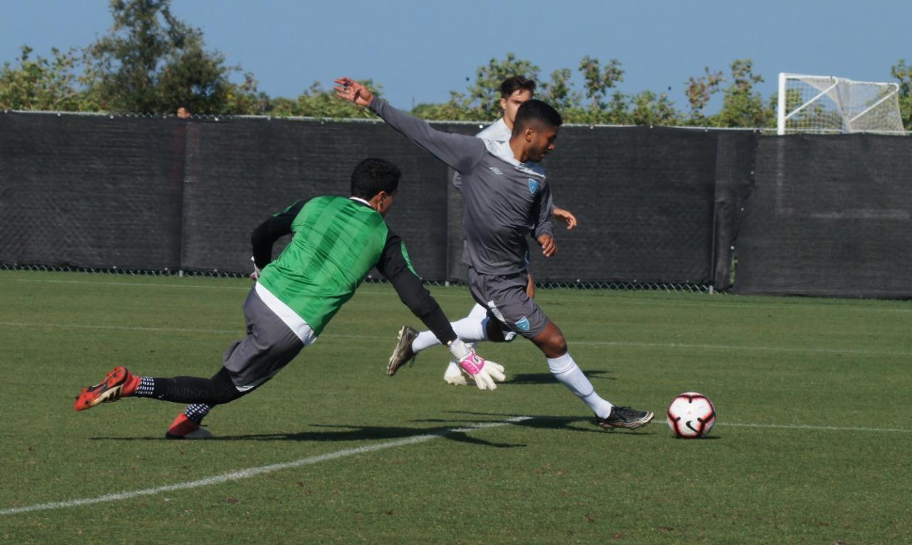 La Selección Sub 17 de Guatemala buscará en Bradenton el boleto al Mundial de Brasil. (Foto CDG).