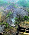 Petén ha sido uno de los lugares más afectados con los incendios forestales. (Foto Prensa Libre: Hemeroteca PL)