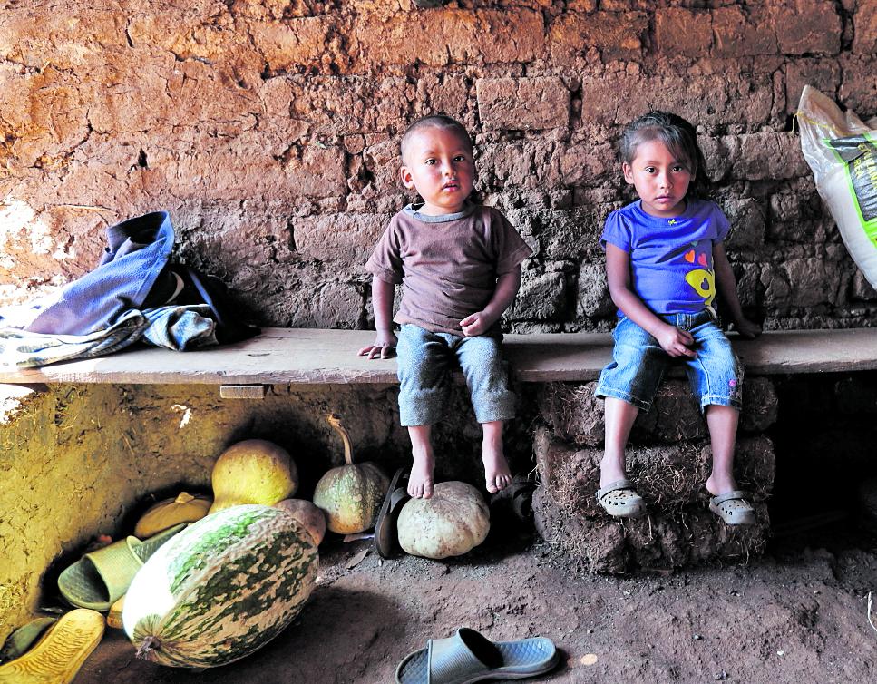 La desnutrición crónica continúa siendo un flagelo para el país, y en el monitoreo de la Venta de los Mil Días de Fundesa se evidencia que las  falencias en ese tema persisten. (Foto Prensa Libre: Hemeroteca PL)