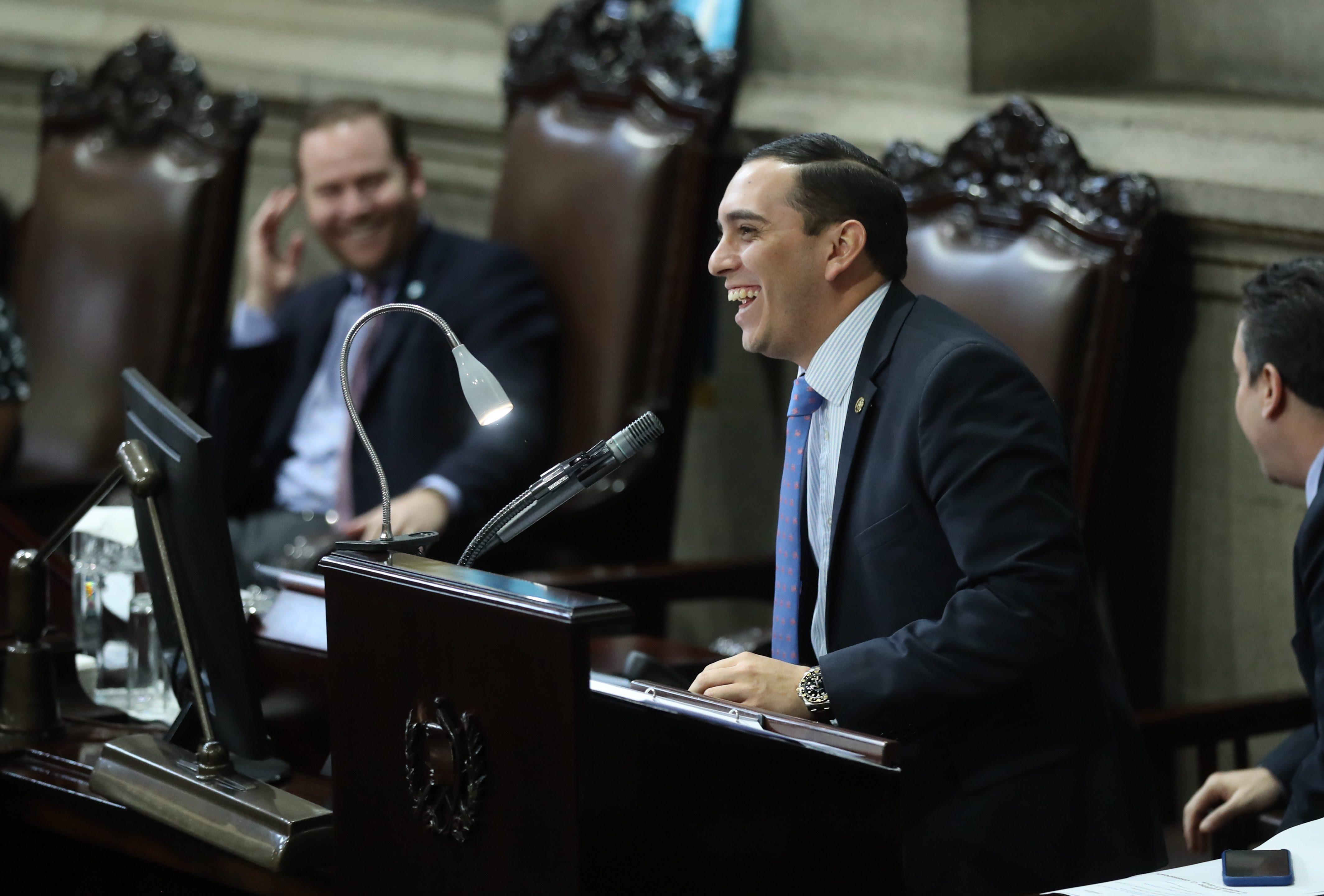 El diputado Juan Manuel Giordano es uno de los señalados de ser tránsfuga ya que siendo elegido por Líder se cambió a FCN-Nación. (Foto Prensa Libre: Hemeroteca PL)