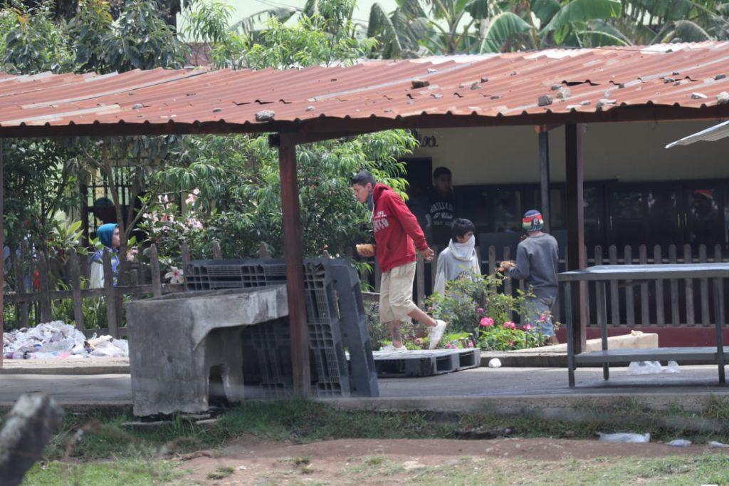 En esta granja permanecen reos que ya fueron sentenciados. Foto Prensa Libre: Érick Ávila