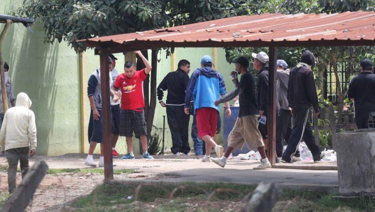 Reos de Pavón, luego de la balacera. (Foto Prensa Libre: Érick Ávila)