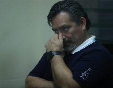 Édgar Romeo Cristiani Calderón, exdiputado, sorprendió al aceptar una acusación frente a un juez. (Foto Prensa Libre: Esbin García)