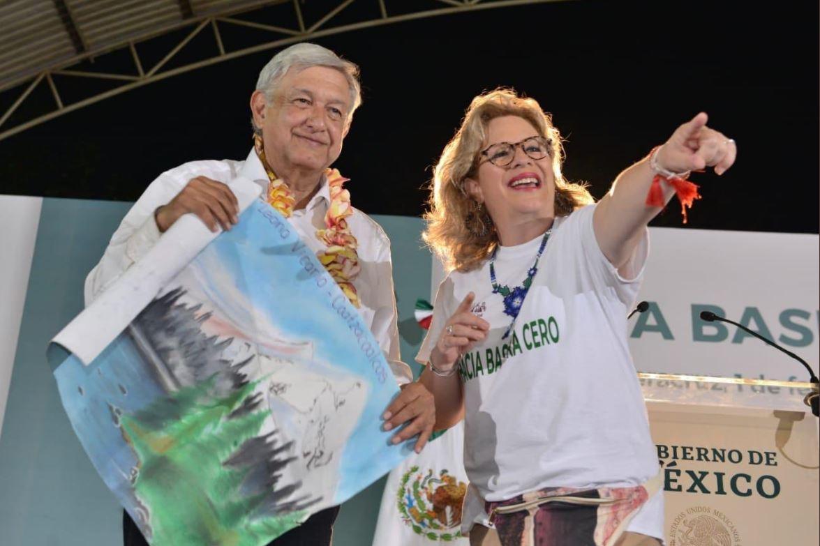 González Blanco es la segunda funcionaria del gobierno de López Obrador que renuncia en los últimos días. (Foto Prensa Libre: Twitter @Josefa_GBOM)