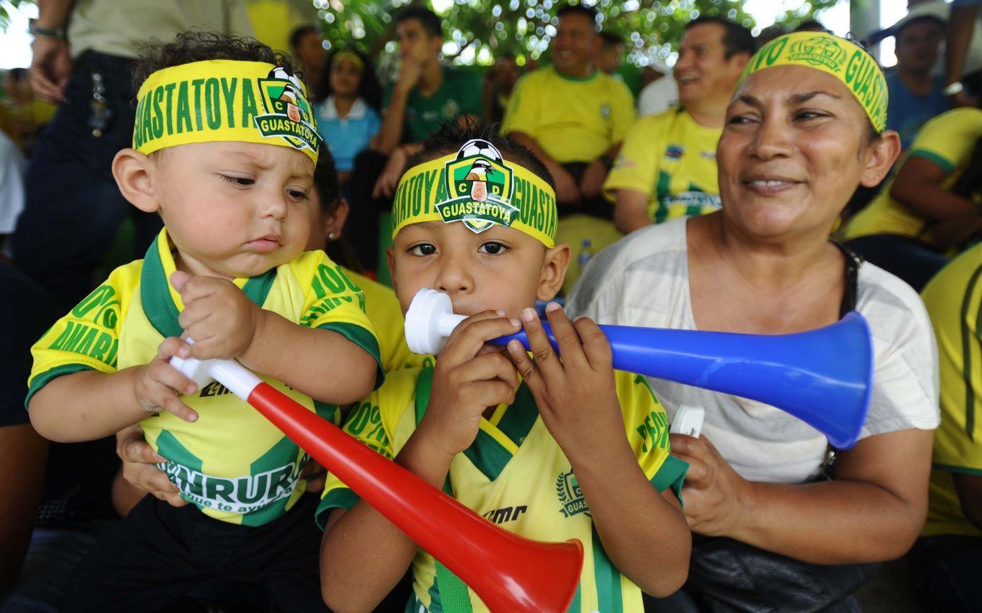 La directiva de Guasta espera tener el mejor ingreso en la serie contra Malacateco. (Foto Prensa Libre: Francisco Sánchez).
