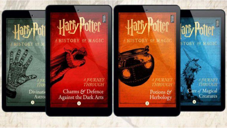 J.K. Rowling publicará Cuatro nuevos libros del universo Harry Potter. (Foto Prensa Libre: Pottermore)