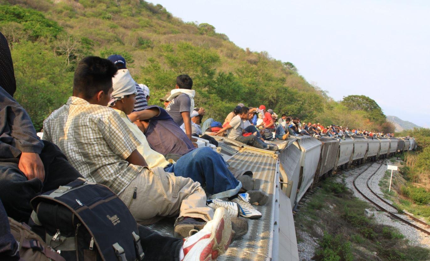 A diario migrantes de Guatemala, El Salvador y Honduras se aventuran a viajar a México, para llegar a EE. UU. (Foto Prensa Libre: Hemeroteca PL)
