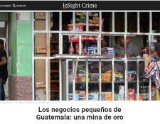 El portal InSightCrime comparte investigación relacionada con las extorciones en Centroamérica. (Foto Prensa Libre: Cortesía)