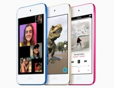 Apple promociona su nuevo modelo de iPod, como parte de su estrategia y oferta de contenido digital. (Foto Prensa Libre: Apple)