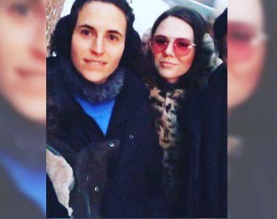 Diana Atri y Joy Huerta se convirtieron en madres de una bebé a la que llamaron  Noah. (Foto Prensa Libre: Instagram)