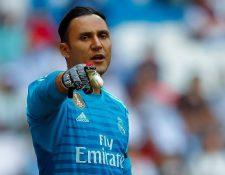 Keylor Navas no fue tomado en cuenta por la Selección de Costa Rica para el amistoso contra Perú. (Foto Prensa Libre: AFP).