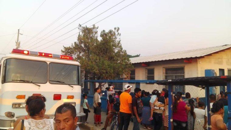 Centro de Núcleos Familiares Educativos para el Desarrollo (Nufed) donde ocurrió el ataque armado en La Libertad, Petén. (Foto Prensa Libre: Dony Stewart).