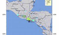 Mapa geológico de la localización del sismo. (Foto Prensa Libre: USGS)