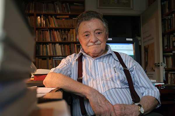 El escritor uruguayo Mario Benedetti falleció el 17 de mayo del 2009. (Foto Prensa Libre: Hemerotecapl)