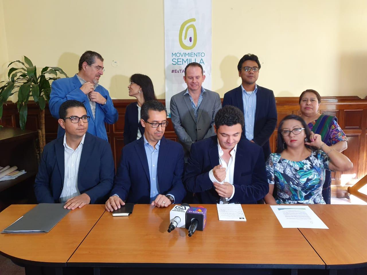 El partido explicó que buscarán trabajar en la lucha contra la corrupción. (Foto Prensa Libre: La red)