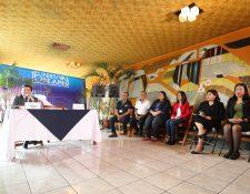 Mesa técnica del Centro Cultural Miguel Ángel Asturias. (Foto Prensa Libre: Fátima Herrera).