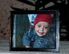 Wilmer Josué Ramírez, de 2 años y medio, falleció el pasado 15 de mayo en EE. UU. (Foto Prensa Libre. Mario Morales)