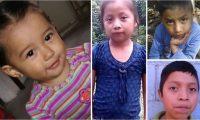 Mariee Juárez, Jakelin Caal, Felipe Gómez y Juan de León, cuatro de los siete niños que han muerto en EE. UU., algunos de los cuales estaban bajo la responsabilidad de agencias a cargo del DHS.  (Foto Prensa Libre: Hemeroteca PL)