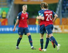 La Selección de Noruega humilló a  Honduras en la Copa el Mundo de Polonia. (Foto Fifa).