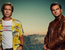 Brad Pitt y Leonardo DiCaprio son los protagonistas de la nueva cinta de Quentin Tarantino, la cual competirá en el Festival de Cannes por la Palma de Oro. (Foto Prensa Libre: Instagram)