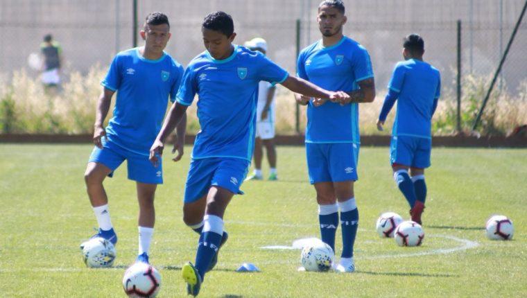 La Selección Nacional Sub 23 trabajó este viernes en Francia a la espera del debut en el torneo Esperanzas de Toulon. (Foto Fedefut).