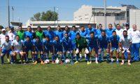 La Selección Nacional Sub 23 se encuentra en Francia  en el torneo amistoso en Toulon. (Foto Fedefut).