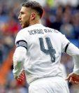 Sergio Ramos podría salir del Real Madrid en busca de una oportunidad en el futbol de China. (Foto Redes).