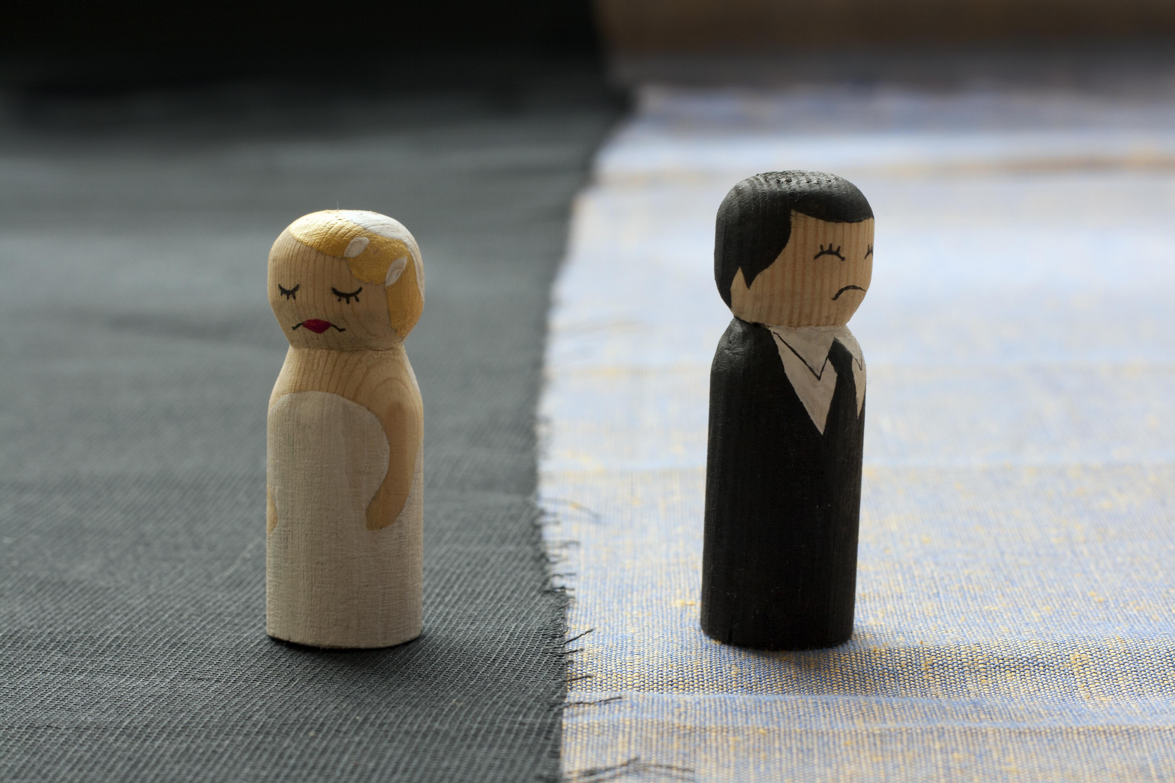 Después de una separación surgen cambios hasta con las amistades.