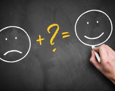 Existen soluciones prácticas para fortalecer los pensamientos positivos.  (Foto Prensa Libre: Servicios)