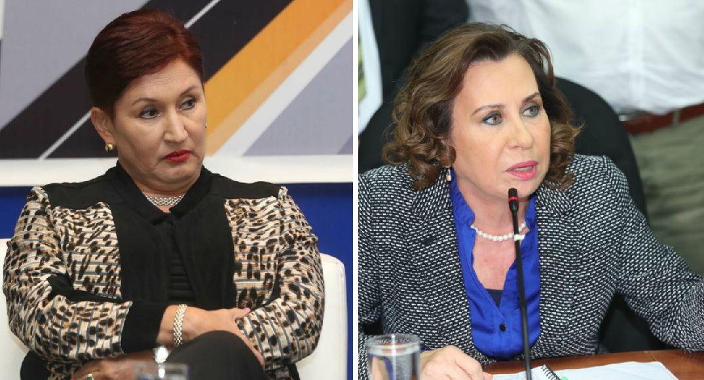 Aldana y Torres tienen recursos en a CC que podría afectar sus candidaturas. (Foto Prensa Libre: Hemeroteca PL)