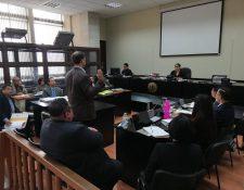 El testigo David Carlos Ekman Khan declaró en el caso Traficantes de Influencias. (Foto Prensa Libre: Kenneth Monzón)