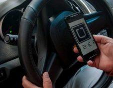 Los clientes de Uber también podrán ser calificados y sancionados. (Foto Prensa Libre: Hemeroteca PL)