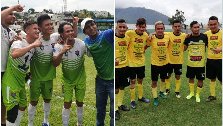 Capitalinos y Xinabajul ascienden a la Liga Primera División del futbol guatemalteco. (Fotos La Red).