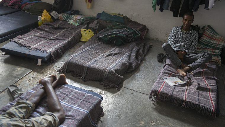 La condiciones de vida de los migrantes en el sur de México son complicadas. (Foto Prensa Libre: AFP)