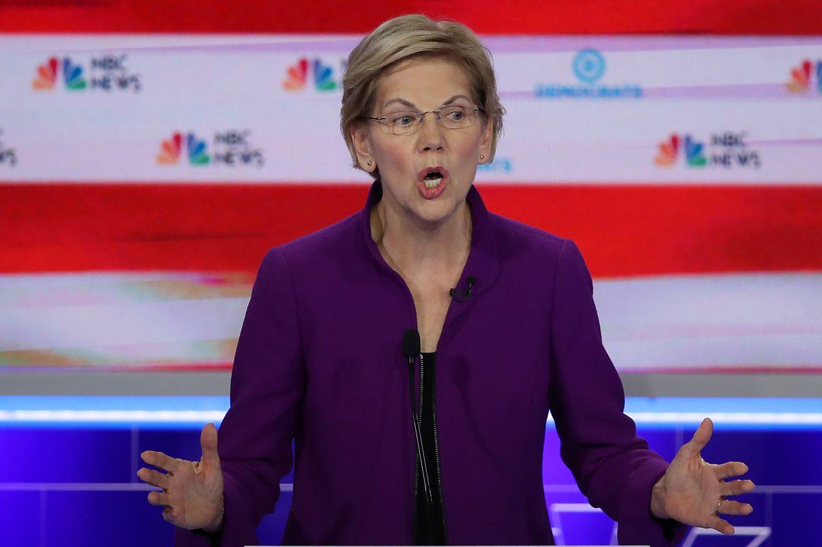 Elizabeth Warren lidera el primer debate demócrata a la presidencia de EE.UU.