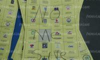 Mensaje en una de las papaletas para elegir diputados al Parlacen. (Foto Prensa Libre: Esbin García)