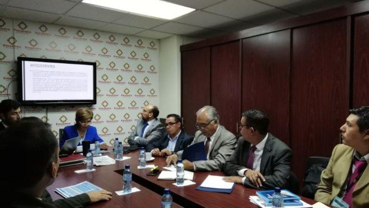 Autoridades de seguridad del país informaron sobre las acciones para evitar cualquier inconveniente durante las elecciones generales. (Foto Prensa Libre: Carlos Álvarez)