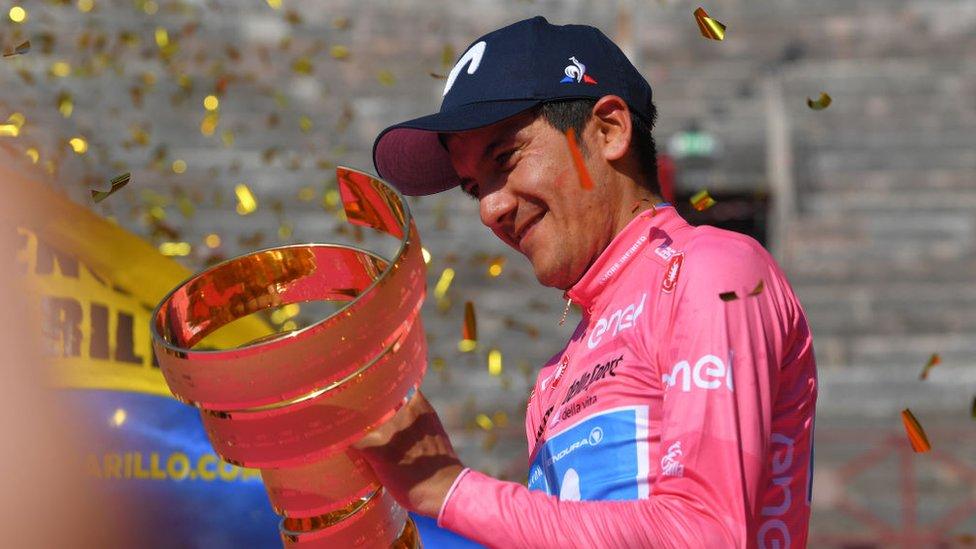 Quintana, Carapaz y Valverde, trío de lujo del Movistar en la Vuelta a España