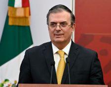 Una delegación mexicana encabezada por el canciller Marcelo Ebrard está reunida en Washington con funcionarios estadounidenses para evitar los aranceles a sus exportaciones.