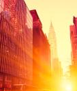 Un estudio de la NASA constató que en los meses de verano la temperatura en Nueva York era en promedio 4 grados centígrados más alta que en los alrededores.
