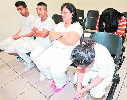 Siete personas fueron condenadas en San Salvador a entre 15 y 30 años de cárcel por su participación en el grupo conocido como html5-dom-document-internal-entity1-quot-endViudas negrashtml5-dom-document-internal-entity1-quot-end. (Foto: cortesía La Prensa Gráfica)