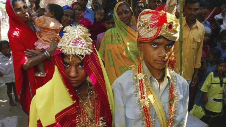 De acuerdo con Unicef, alrededor del mundo el número de matrimonios infantiles de ambos sexos se ubica en unos 765 millones, lo que incluye a unos 115 millones de varones que se casaron siendo niños.