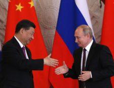 """Xi asegura que Putin es su """"mejor amigo"""". (GETTY IMAGES)"""